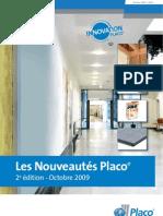 PLACOPLATRE Plafonds - Nouveautes 2009