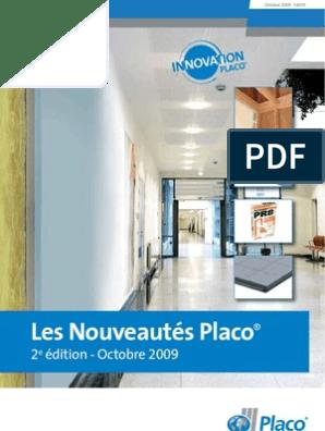 Placoplatre Plafonds Nouveautes 2009 Plâtre Recyclage