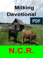 A Milking Devotional a Few Milking Stories and Milking Tips-N.C.R.