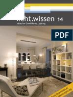 """licht.wissen No. 14 """"Ideas for Good Home Lighting"""""""