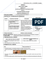 3° JULIO - SESIONES UNIDAD.doc