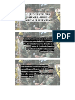 Documentos Indispensables Militar
