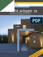 "licht.wissen No. 15 ""Good Outdoor Lighting for the Home"""