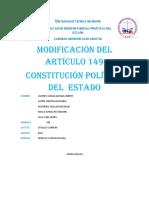 Trabajo Final Constitucional