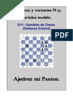 27-D11 Gambito de Dama (Defensa Eslava).pdf