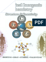 Biological Inorganic Chemistry - Structure and Reactivity - Ivano Bertini Et Al. (University Science Books, 2007)