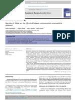 Cuál son los efectos de los ICS sobre el crecimiento de los niños.pdf