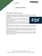 27-07-2018 Sonora Registra Un Crecimiento Anual Positivo