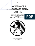 How We Made a Studio Grade Album for $190