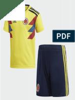 Uniforme de Colombia