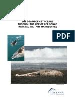 Stranding of Cetaceans