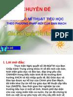Bao Cao Chuyen de Day Hoc Mi Thuat Tieu Hoc Theo Phuong Phap Dan Mach