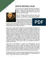 Descripción de Los Viajes de Cristóbal Colon