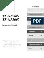 Manual TX-NR5007 English
