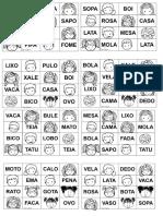 Bingo Palavras Simples