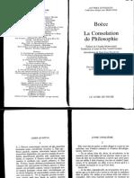 Consolation de la philosophie - Boèce