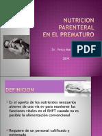 Drpercymartinez Nutricionparenteral 100114174345 Phpapp02