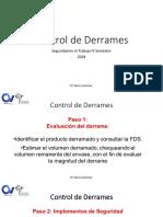 Control de Derrames 2018 - Seguridad IV Semestre