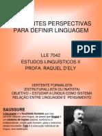 Teorias de Aquisicao Da Linguagem