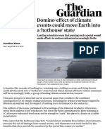 Domino-effect of climate events could move Earth into a 'hothouse' state | Environment | The Guardian