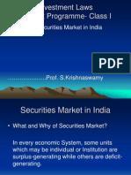 Securities Market in India