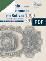 Un Siglo de Economía en Bolivia I
