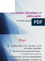 [PPT] Mécanique Quantique et philosophie