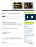 Lawphilreviewer Wordpress Com 2011-12-20 Political Law Constitutional Law Article Vii