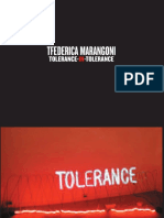 Tolerance in Tolerance Federica Marangoni