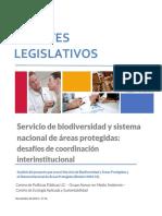 Apuntes Legislativos - Servicio de biodiversidad y sistema nacional de áreas protegidas (Lectura Complementaria)