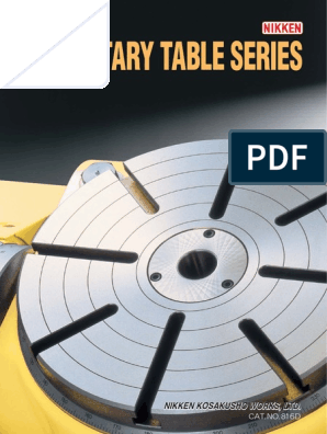 CAT 816D Rotary Tables | Numerical Control | Rotation Around