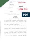 U.S. v. Michael Cohen Information