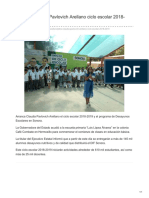20-08-2018-Celebra Claudia Pavlovich Arellano Ciclo Escolar 2018-2019- ElsoldeHermosillo