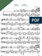 Scriabin Etude Op 8 No 12