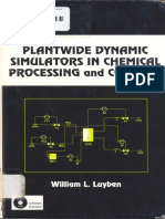 Plantwide Dynamic Simulators Luyben 2002