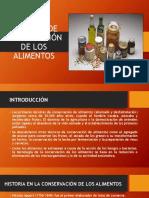 Métodos de Conservación de Los Alimentos-diapositivas