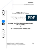 Estimating Non-Climate Impacts of Climate Change and Climate Policy