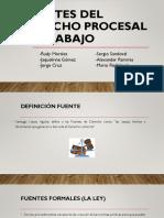 Fuentes Del Derecho Procesal de Trabajo- Grupo 2