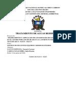 00 Monografía Planta de Tratamioento de Aguas Servidas - Huaraucaca 2018