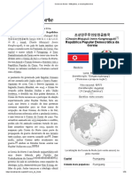 Coreia Do Norte – Wikipédia, A Enciclopédia Livre