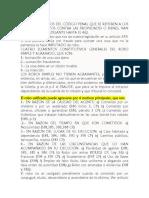Examen Penal II