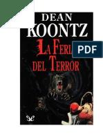 Koontz Dean R - La Feria Del Terror