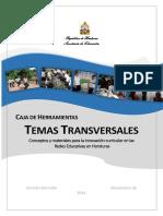 Caja de Herramientas - Temas Transversales