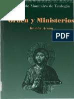 ARNAU R., Orden y Ministerios, BAC, 1995