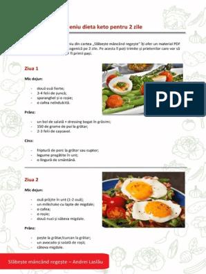 dieta de slabire ketogenica