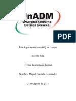 Sesión 8. Actividad 1. Integración y Redacción Del Informe Final