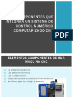 05 CPI Componentes Que Integran Un Sistema de Control Numérico