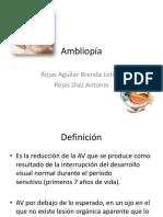 ambliopía