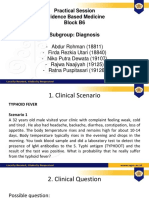 Evidence Based Medicine - Kelompok 10 - Diagnosis