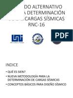 Método Para La Determinación de Las Cargas Rnc-16
